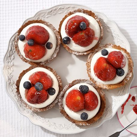 Tartlet – fresh strawberries
