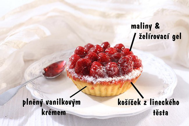 Tartlet – frozen raspberries