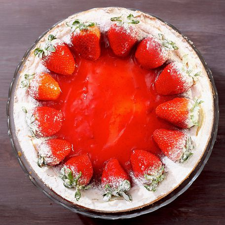 Strawberry cheesecake [gluten free]