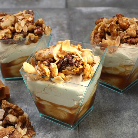 Salty caramel & nuts