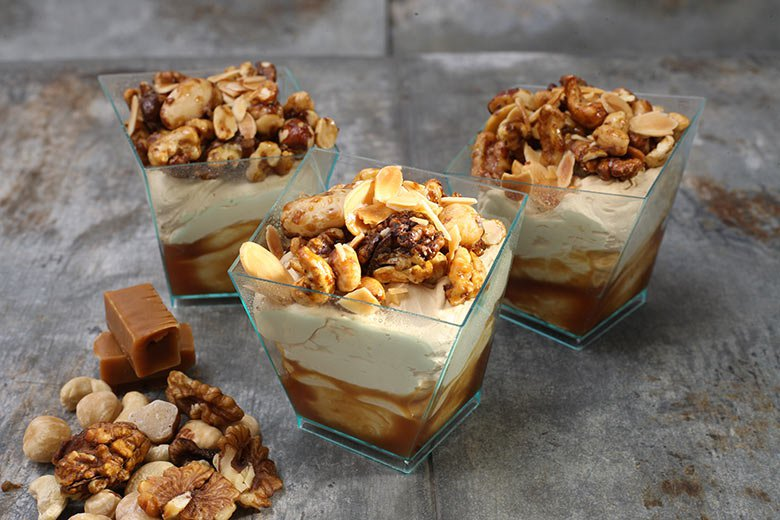 Salty caramel & nuts [+ 50 CZK glass deposit]