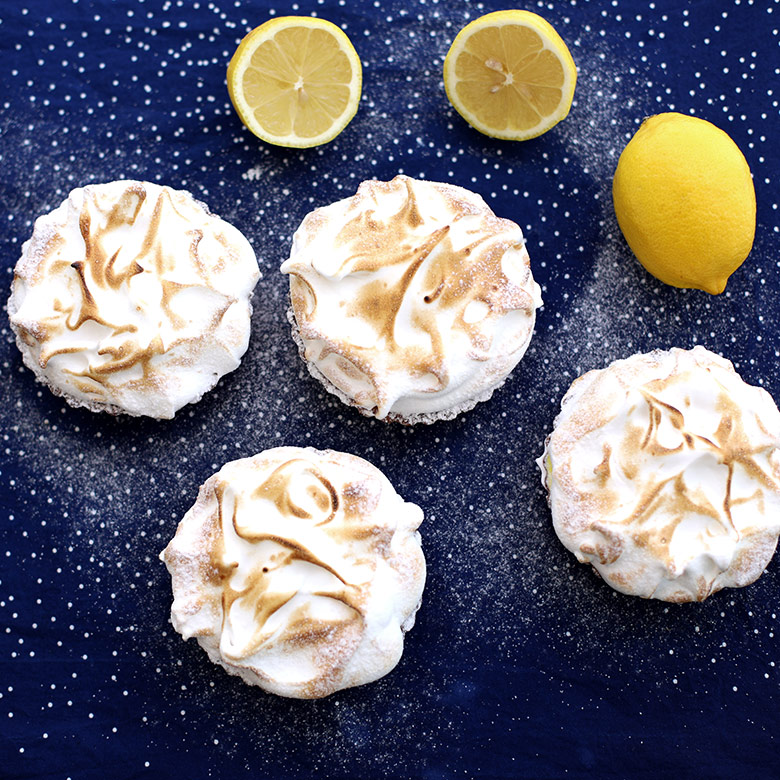 Lemon tartlet
