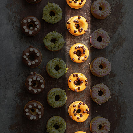 Mini donut – orange