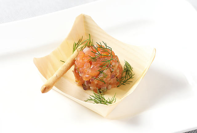 Steak tartare – salmon