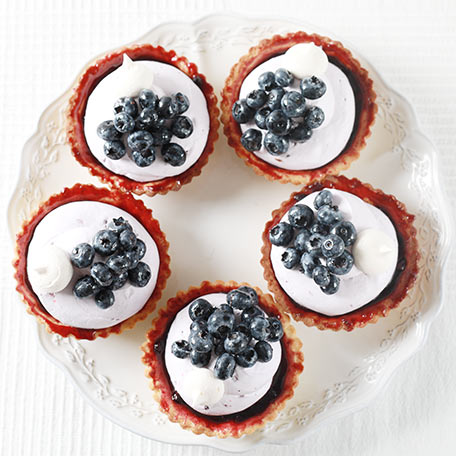 Tartlet – fresh blueberries
