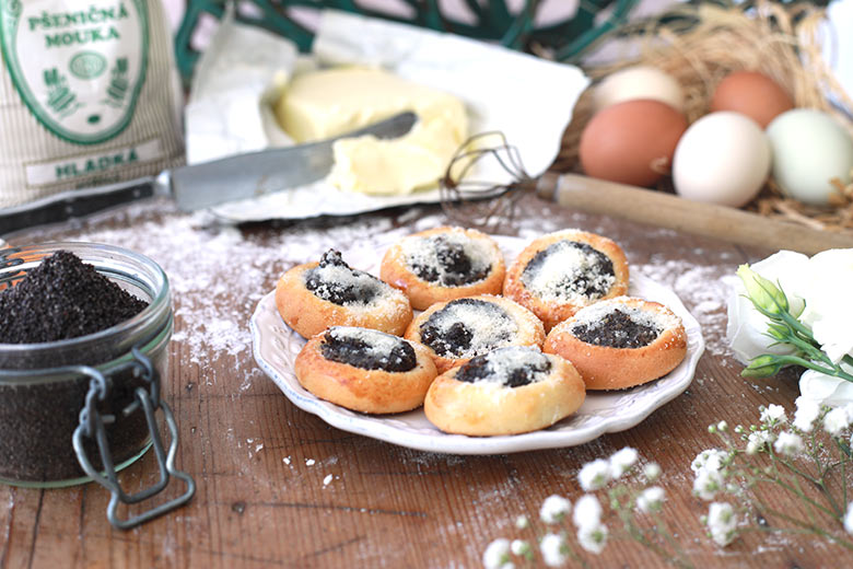 Wedding pastry – poppy seed
