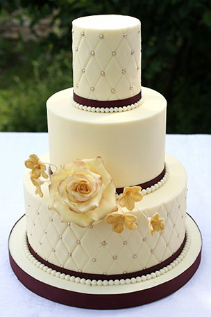 Sample wedding cake #5