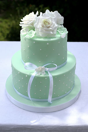 Sample wedding cake #9