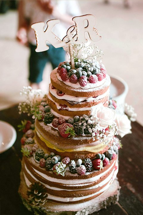 A wedding cake by nasladko.cz